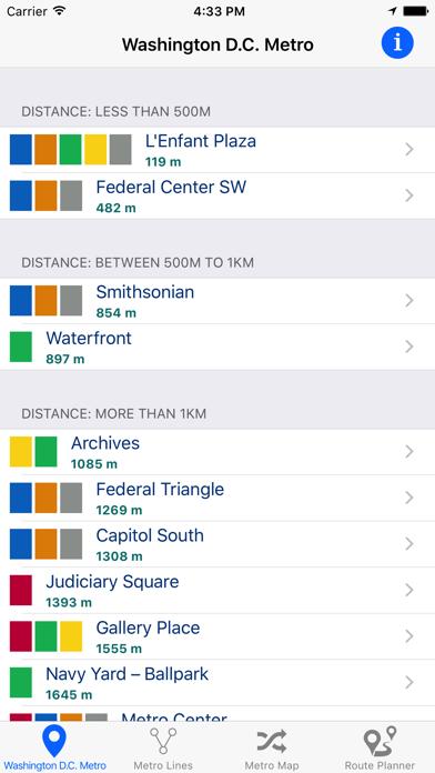 Washington D.C. iMetroのおすすめ画像1