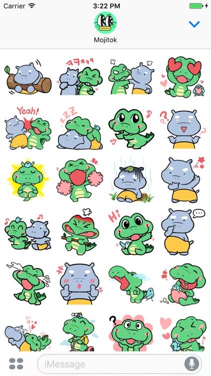 Aku&Haku Stickers