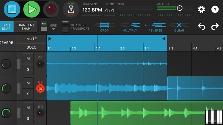 Looperverse – Multitrack Loop Recorder
