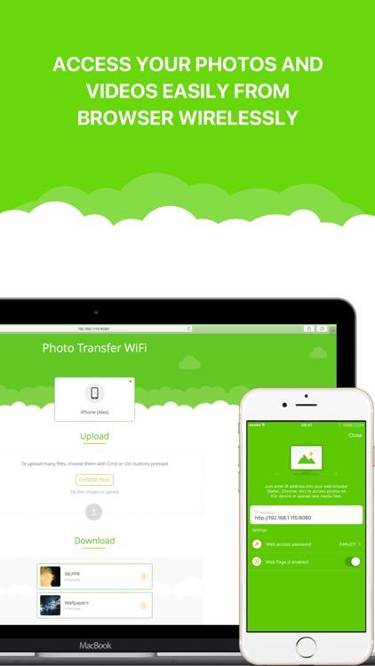 Photo Transfer WiFi - Send Photos and Videos screenshot-3