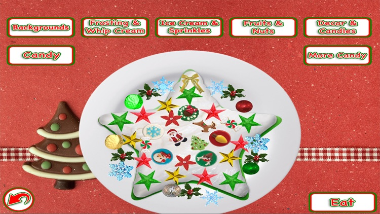 Christmas Cake Maker Holiday Dessert Candy Food