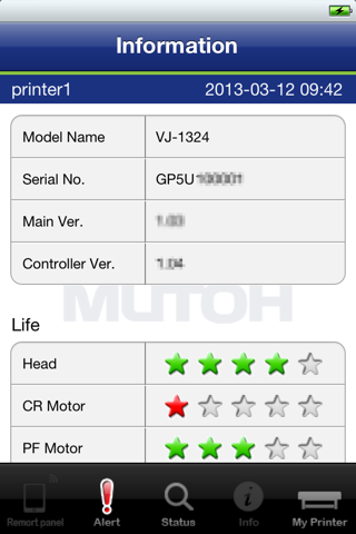 VSM Mobile - náhled