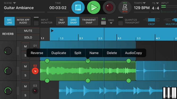 Looperverse – Multitrack Loop Recorder screenshot-4