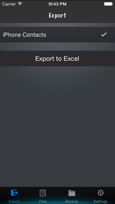 Contacts to Excelのおすすめ画像1