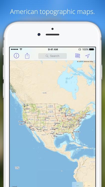 Topo maps United States