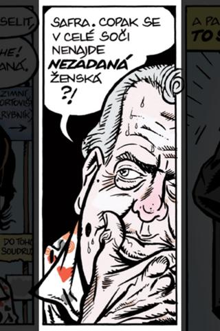 Zelený Raoul - komiks Reflexu - náhled
