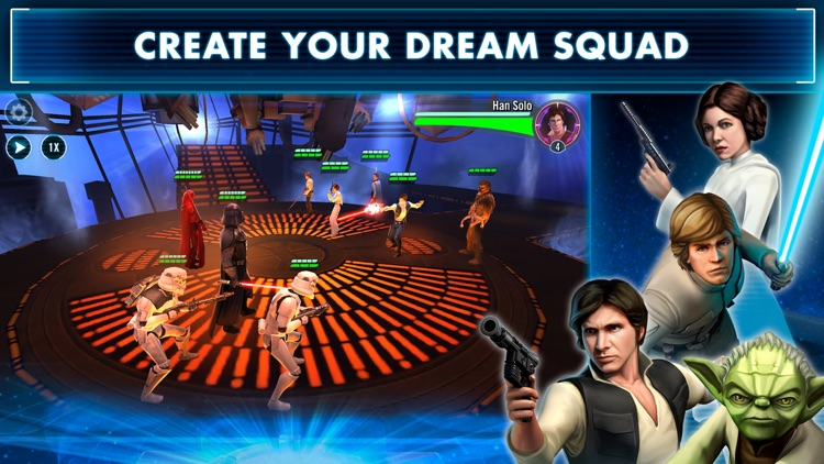 Star Wars™: Galaxy of Heroes screenshot-0