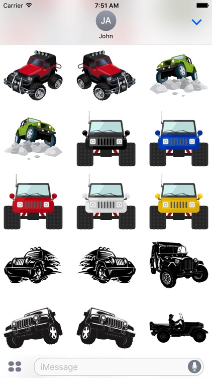 Its a Jeep Thing Sticker Pack screenshot-3