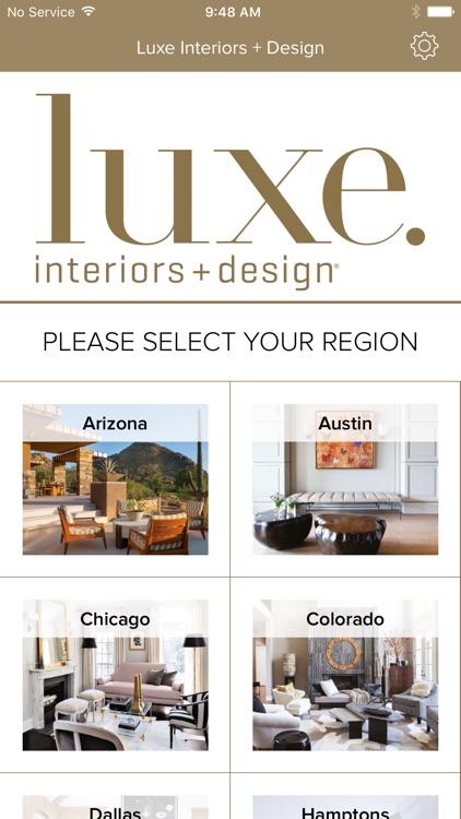 Luxe Interiors + Design Magazine screenshot-4