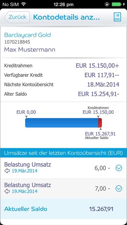 Barclaycard App screenshot-3