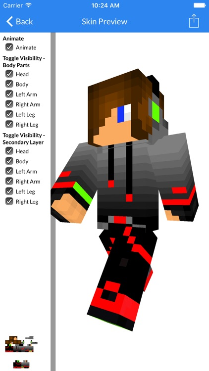 Best Teen Skins - New Teen Skins For Minecraft PE screenshot-0