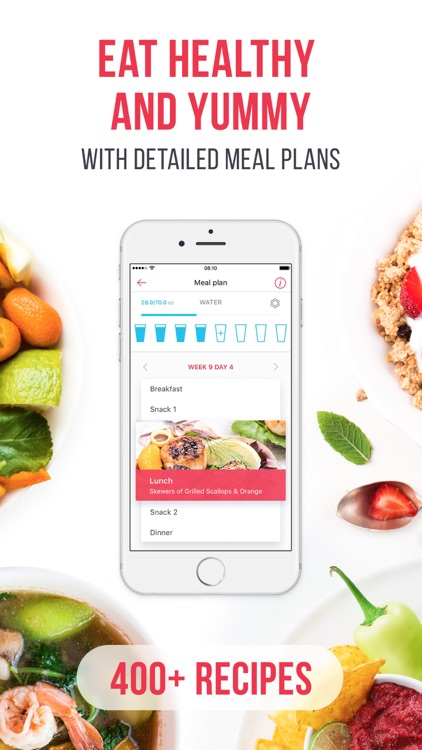 RUNNING for weight loss: workout & meal plans app image