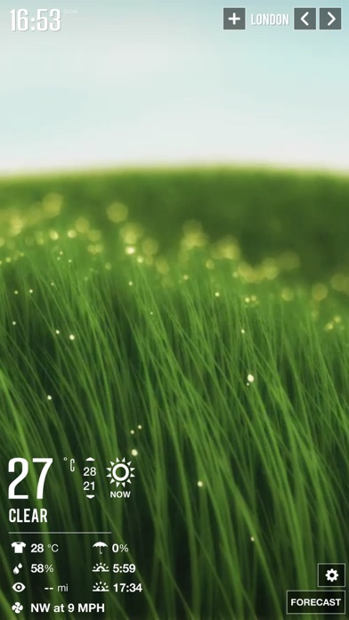 Weather HD 2 Screenshot 1