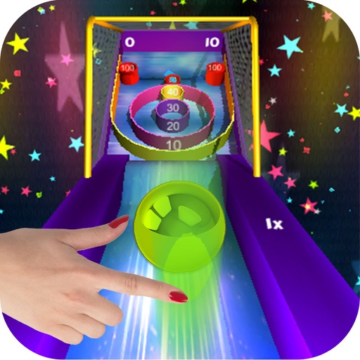 3D Flick Roller Ball Skee Arcade 2017 icon