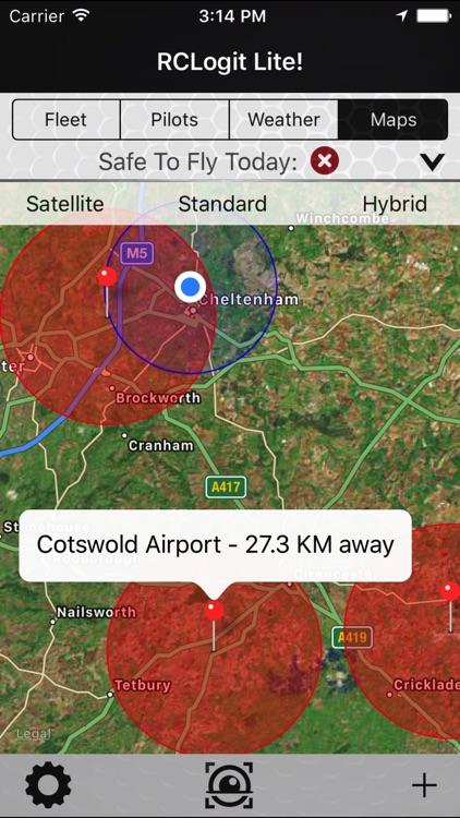 RCLogit Lite - Drone Safety, Hazard & Logging App screenshot-4