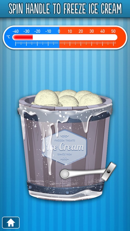 Icy Dessert Maker - Frozen Ice Cream Treats