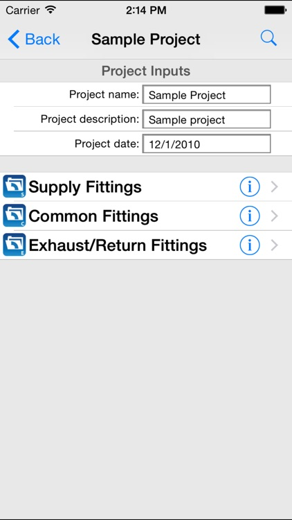 HVAC ASHRAE Duct Fitting Database screenshot-3