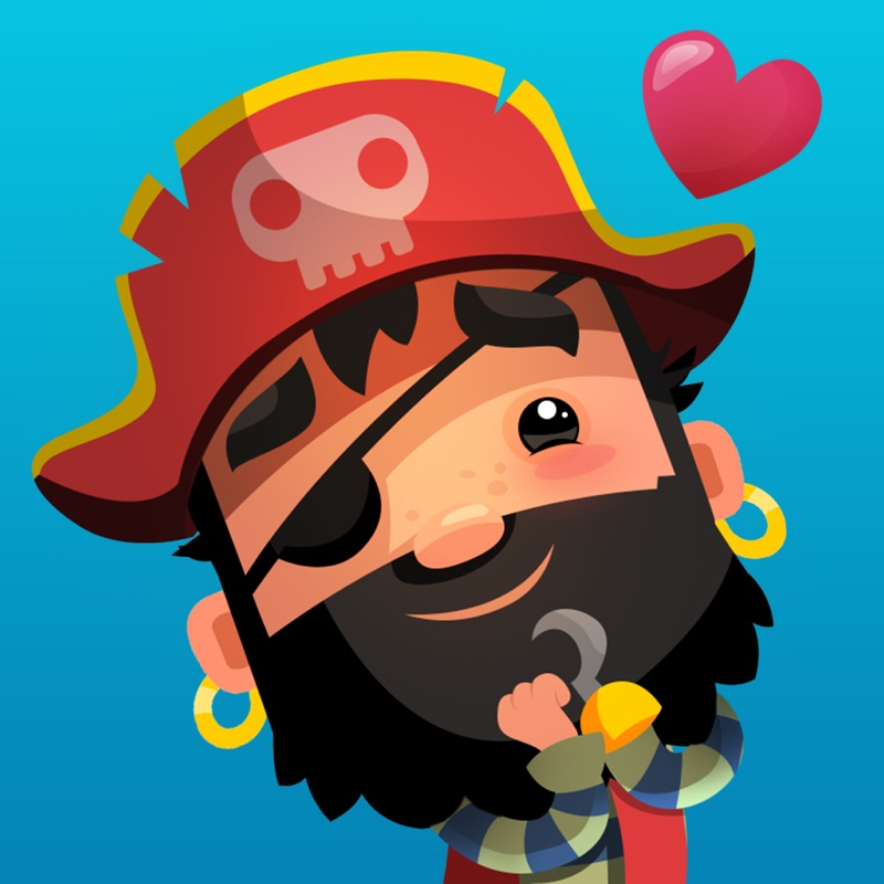 Pirate Kings Animated Stickers for Apple iMessage Hack Tool