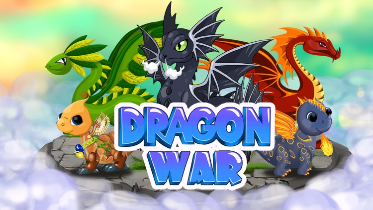 Dragon War: Dragons Fighting & Battle game screenshot-0