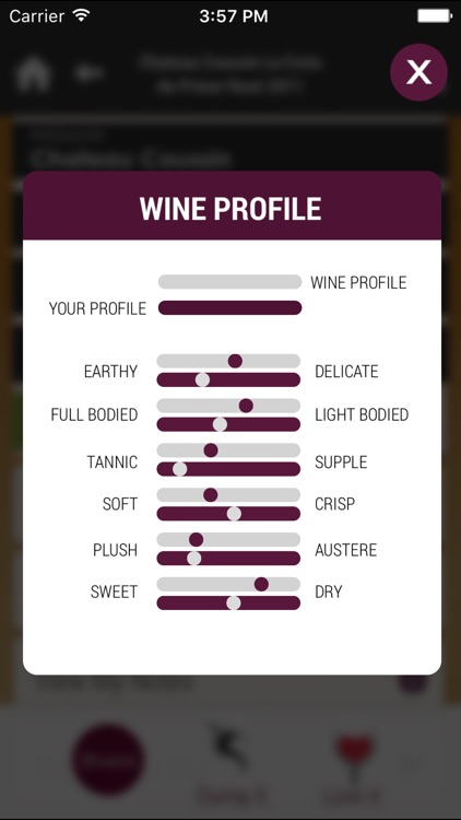 Wine4.Me – Wine and Food Pairing, Recommendation screenshot-4