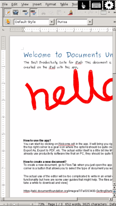 Open Word for Microsoft Documents & Office Writer Screenshot