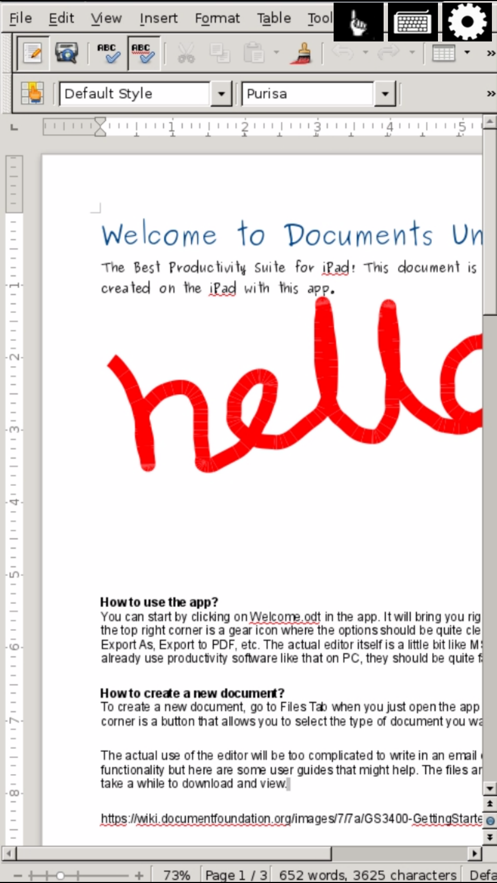 Open Word for Microsoft Documents & Office Writer App 截图