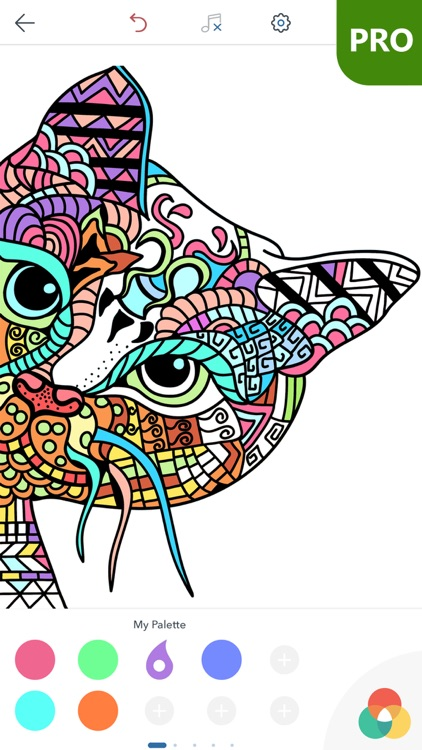 Cat Coloring Pages for Adults PRO screenshot-4