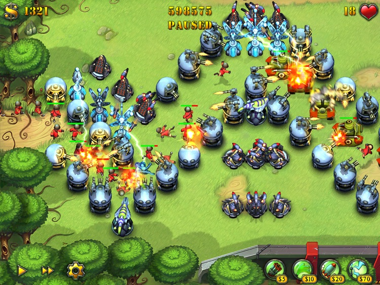Fieldrunners for iPad screenshot-0