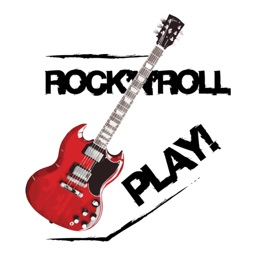 Rock'n'roll Guitars stickers by drop sound