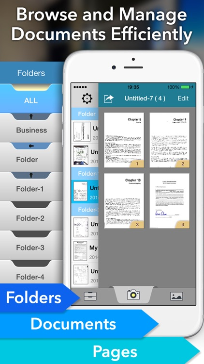 Faster Scan+ - PDF document scanner screenshot-2