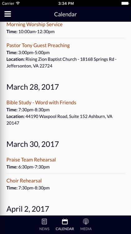The Word Church 2.0 - Ashburn, VA screenshot-3