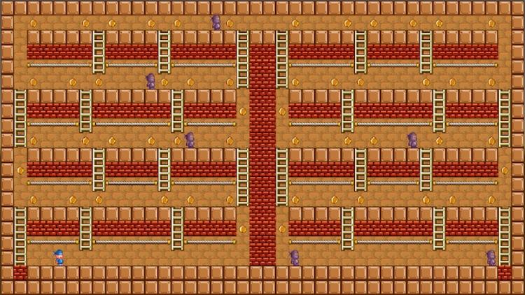 Arcade Lode Runner 2D Platform Adventure Retro Bit screenshot-3