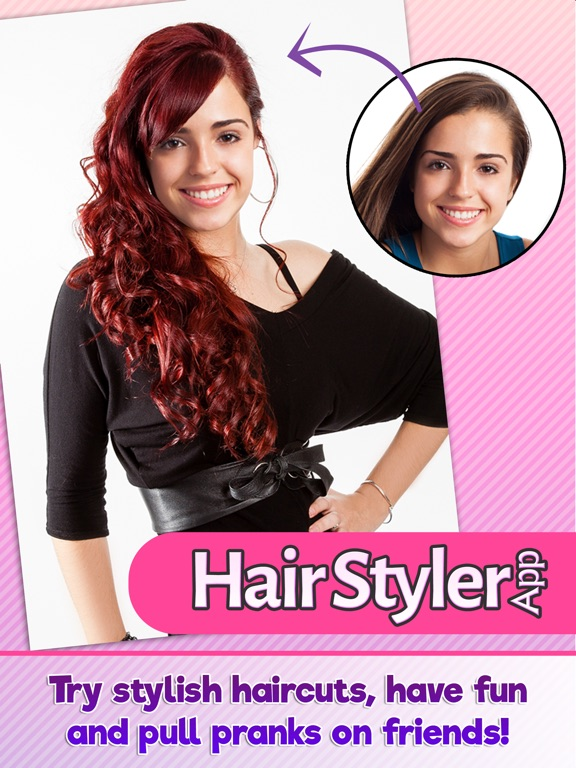 Screenshot #1 for Hair Styler App Try on Hairstyles For a New Look ...
