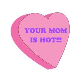 Rude Valentine's Day Stickers