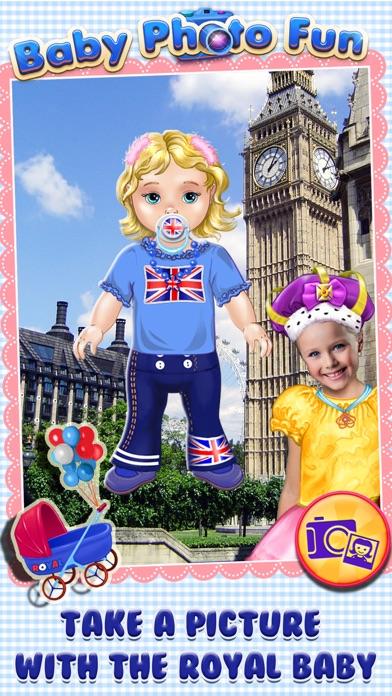 Royal Baby Photo Fun - Dress Up & Card Maker