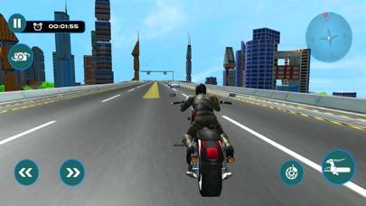 猛烈な都市バイク ライダー-レースのシミュレーターのゲームのおすすめ画像5