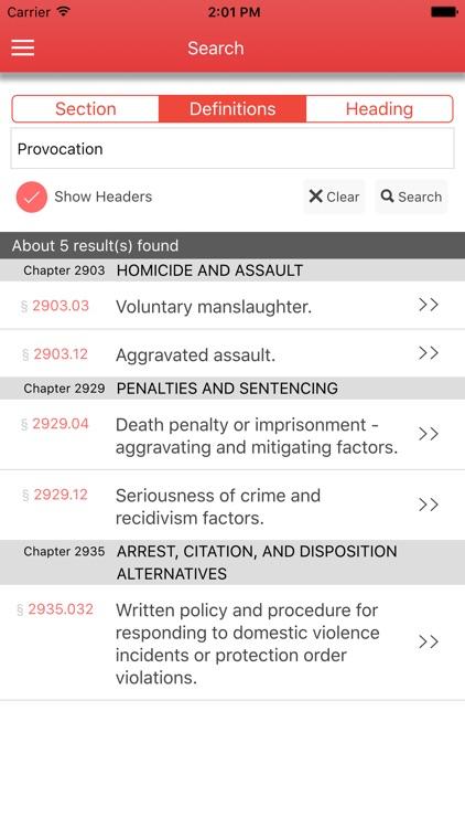 Ohio Health Safety Morals screenshot-3