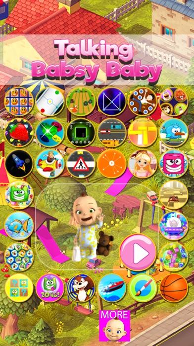 Screenshot for Talking Babsy Baby in Jordan App Store