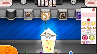 Screenshot of Papa's Freezeria To Go! App