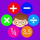 数学の練習 - 子供と若者のための楽しいゲーム icon