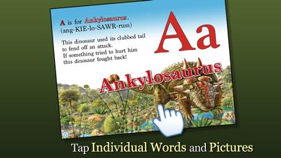 Alphabet of Dinosaurs - Smithsonian Alphabet BooksScreenshot of 3
