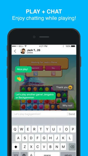 Moove - New Games, Play & Chat Screenshot