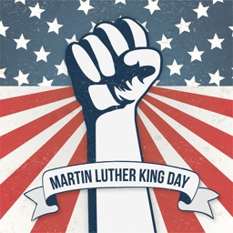 Martin Luther King Day Animated Stickers
