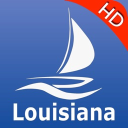 Louisiana GPS Nautical charts pro