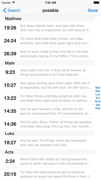 VerseWise Bible King James Version screenshot-4