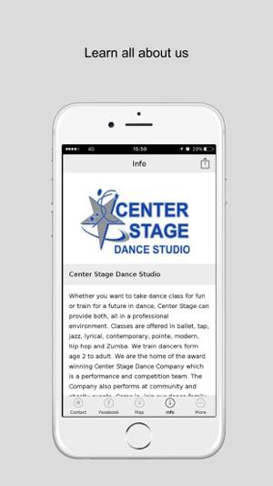 Center Stage Dance Studio Inc on the App Store