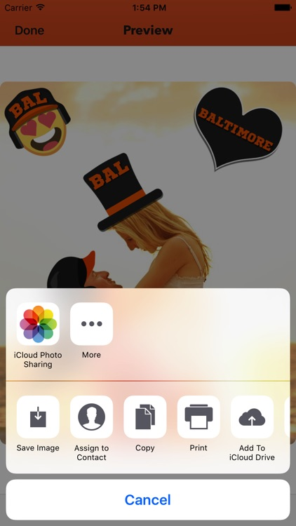 Baltimore Baseball Stickers & Emojis screenshot-4
