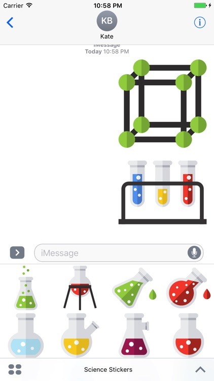 Science Stickers - Emojis for Geeks