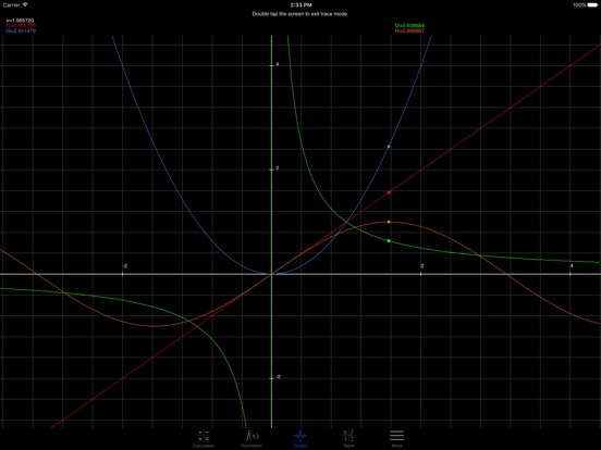 Screenshot #6 pour My Graphing Calculator