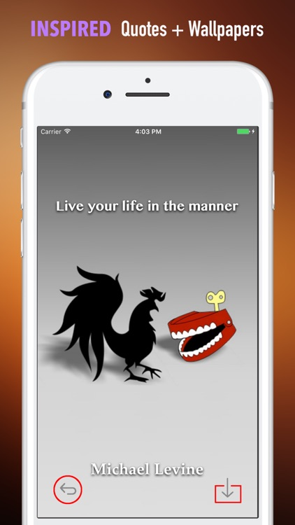 Year of The Rooster Wallpapers HD- Quotes and Art screenshot-4
